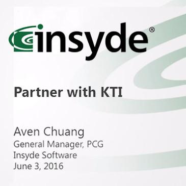 Insyde partner with KingTiger – press conference June 03, 2016